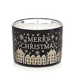 Debenhams - Merry Christmas Candle