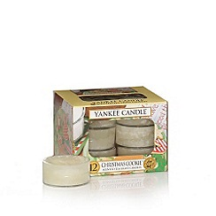 Yankee Candle - Classic 'Christmas Cookie' tea light candle
