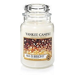 Yankee Candle - Classic 'All is Bright' large jar candle