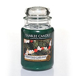 Yankee Candle - Classic 'Christmas Garland' large jar candle
