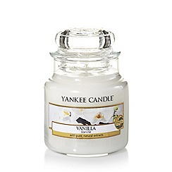Yankee Candle - Small 'Vanilla' scented jar candle