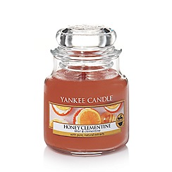 Yankee Candle - Classic 'Honey Clementine' small jar candle