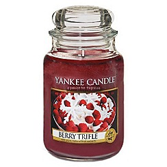 Yankee Candle - Classic 'Berry Trifle' large jar candle