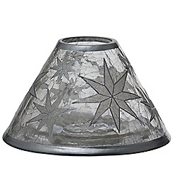 Yankee Candle - 'Arctic Snowflake' large shade and tray