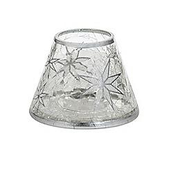 Yankee Candle - 'Arctic Snowflake' small shade and tray