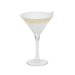 Yankee Candle - Holiday Party martini tealight holder