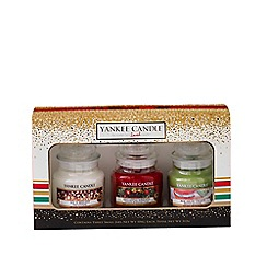 Yankee Candle - Festive small jar candle Christmas gift set