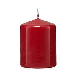 Home Collection - Red 10cm pillar candle