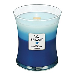 WoodWick - Clothesline fresh trilogy medium jar