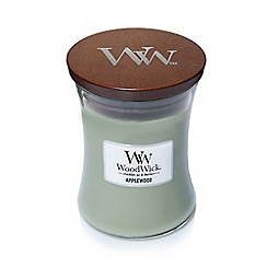 WoodWick - Applewood medium jar