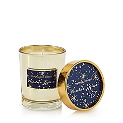 Home Collection - Gold 'Winter Spice' scented candle