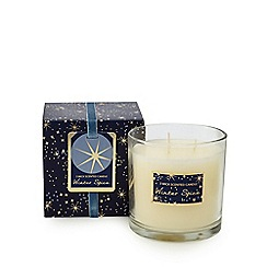 Home Collection - Off white 'Winter Spice' scented candle