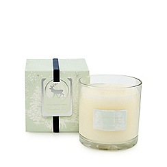 Home Collection - Off-white 'Frosted Fir' spice scented candle