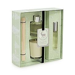 Home Collection - Light green diffuser and scented candle gift set