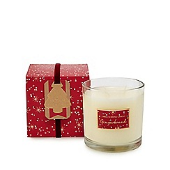 Home Collection - Red gingerbread scented candle