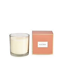 Home Collection - White fig and amber candle
