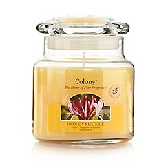 Colony - Honeysuckle fragranced candle jar