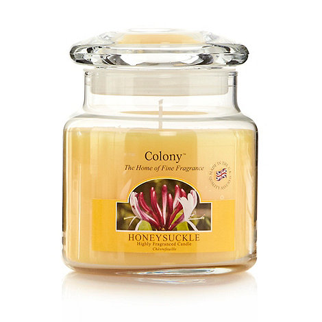 Colony - Honeysuckle fragranced candle jar