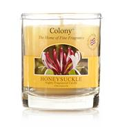 Honeysuckle fragranced votive candle