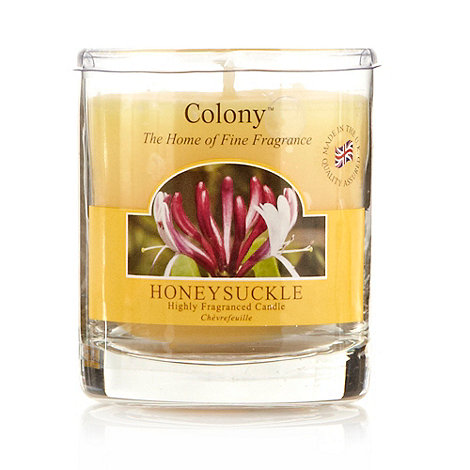 Colony - Honeysuckle fragranced votive candle