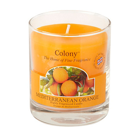 Wax Lyrical - Mediterranean orange fragranced votive candle