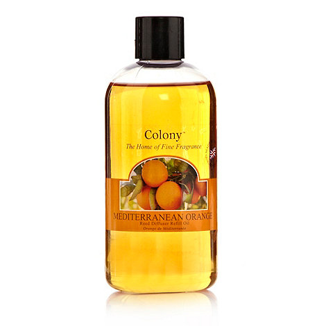 Colony - Mediterranean orange reed diffuser refill oil