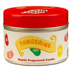Jelly Belly - Tangerine scented candle tin