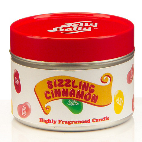 Jelly Belly - Sizzling Cinnamon scented candle tin