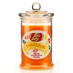 Jelly Belly - Tangerine scented candle jar