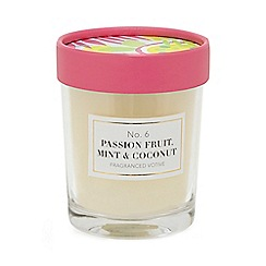 Home Collection - White passion fruit, mint and coconut votive candle