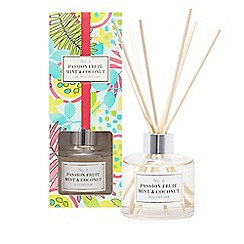 Home Collection - White diffuser passionfruit, mint & coconut