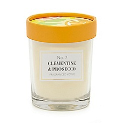 Home Collection - White clementine & prosecco votive candle