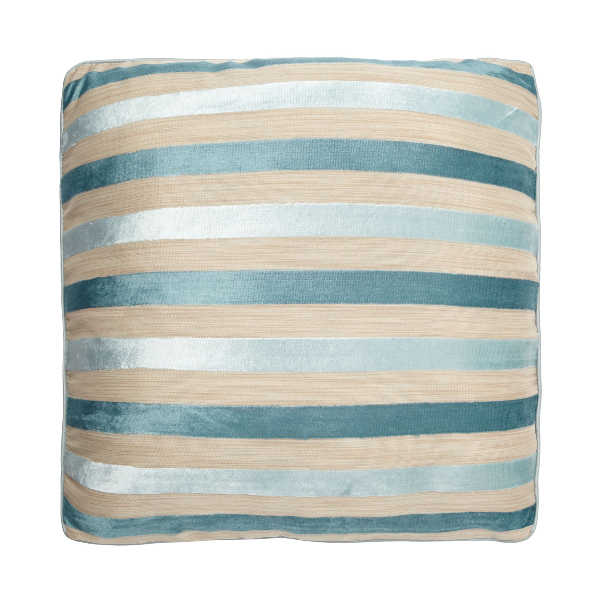 debenhams duck egg blue burnout stripe cushion from. Black Bedroom Furniture Sets. Home Design Ideas
