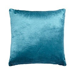 Home Collection - Teal velvet cushion