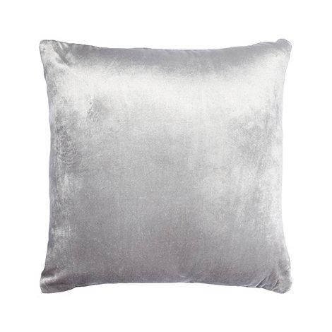 Home Collection - Silver velvet cushion