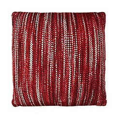 Home Collection - Red space dye cushion