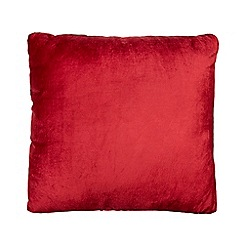 Home Collection - Red velvet cushion