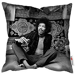 We Love Cushions - Jimi Hendrix print cushion