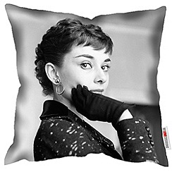 We Love Cushions - Audrey Hepburn print cushion
