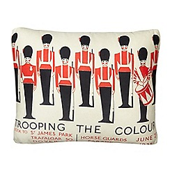 We Love Cushions - Red Routemaster cushion