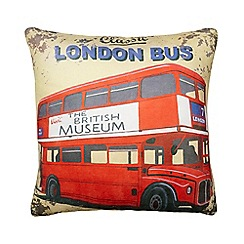 We Love Cushions - Cream 'trooping the colour' cushion