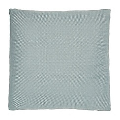 Debenhams - Turquoise textured pillow
