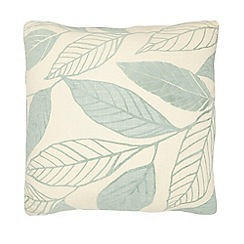Debenhams - Leaf printed cushion