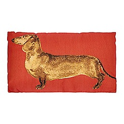 Debenhams - Red daschund cushion