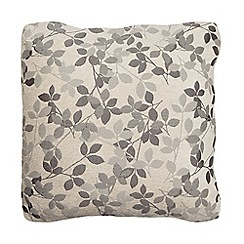 Debenhams - Silver leaf cushion