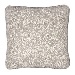 Home Collection - Lilac leaf print cushion