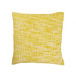 Home Collection - Yellow textured cushion
