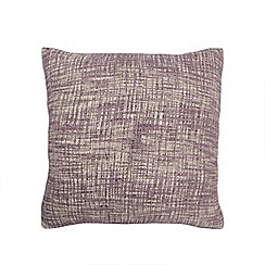 Home Collection - Lilac textured cushion