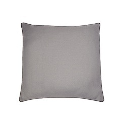 Home Collection Basics - Grey 'Bailey' square cushion