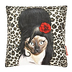 We Love Cushions - Pets rock tattoo cushion